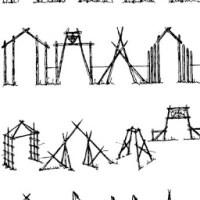 Para quem quer fazer uma construção diferente no Acampamento de Verão - Pórticos