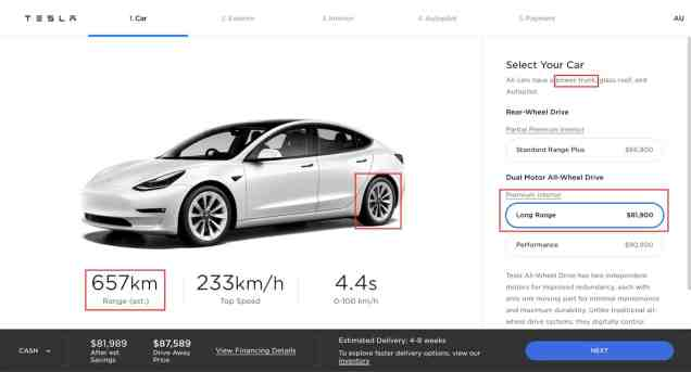 Model 3 long range tesla.com