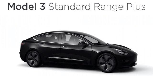 Model 3 standard range old