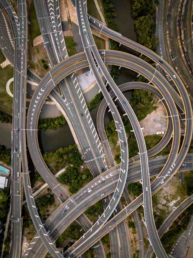 twisted roads