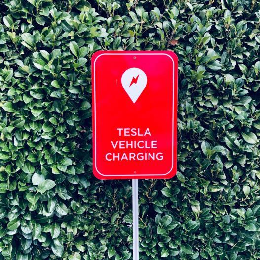 Super charging sign