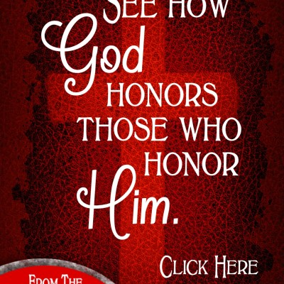 Daily Prayer – Honor God with our Blessings