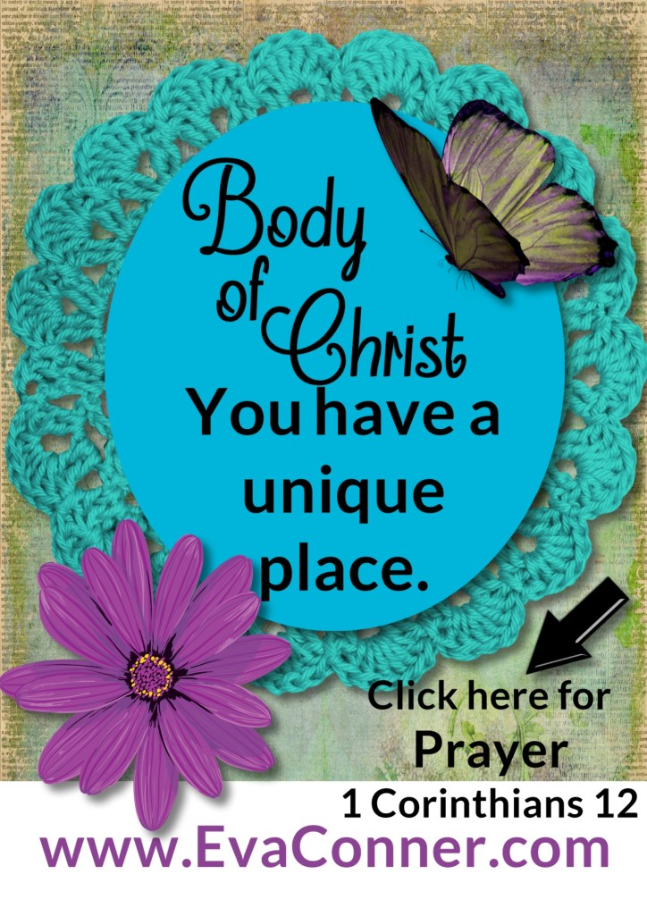 Unique place in Body of Christ