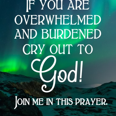 Daily Prayer – Cry Out to the Lord