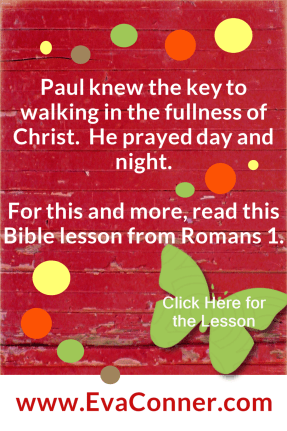 Power in praying day and night. Be like Paul.
