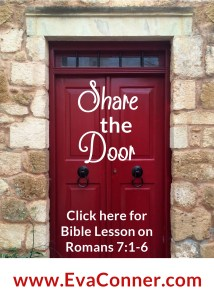 Living in the Spirit shows others the door.