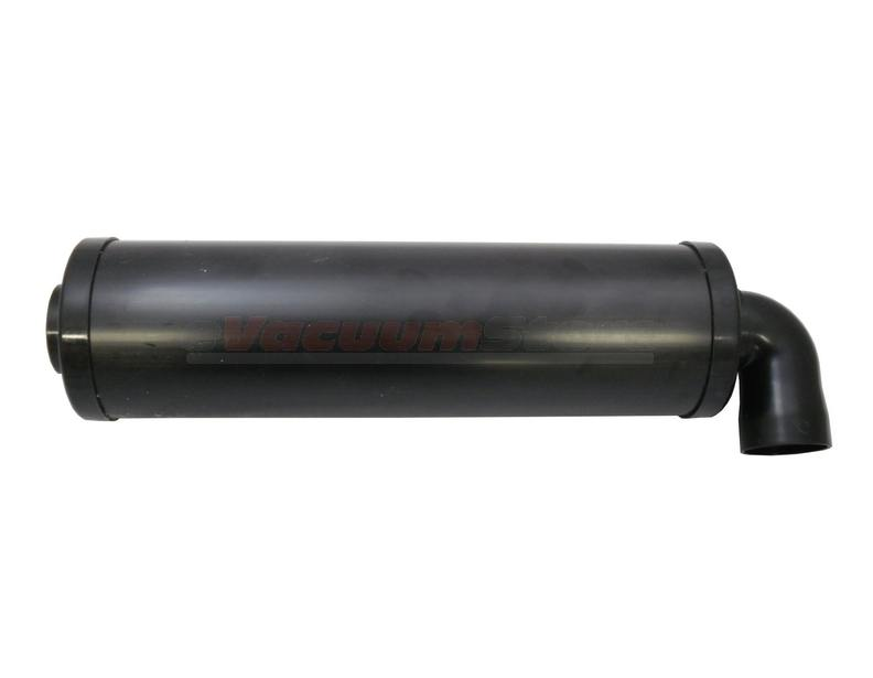 sound off exhaust muffler black