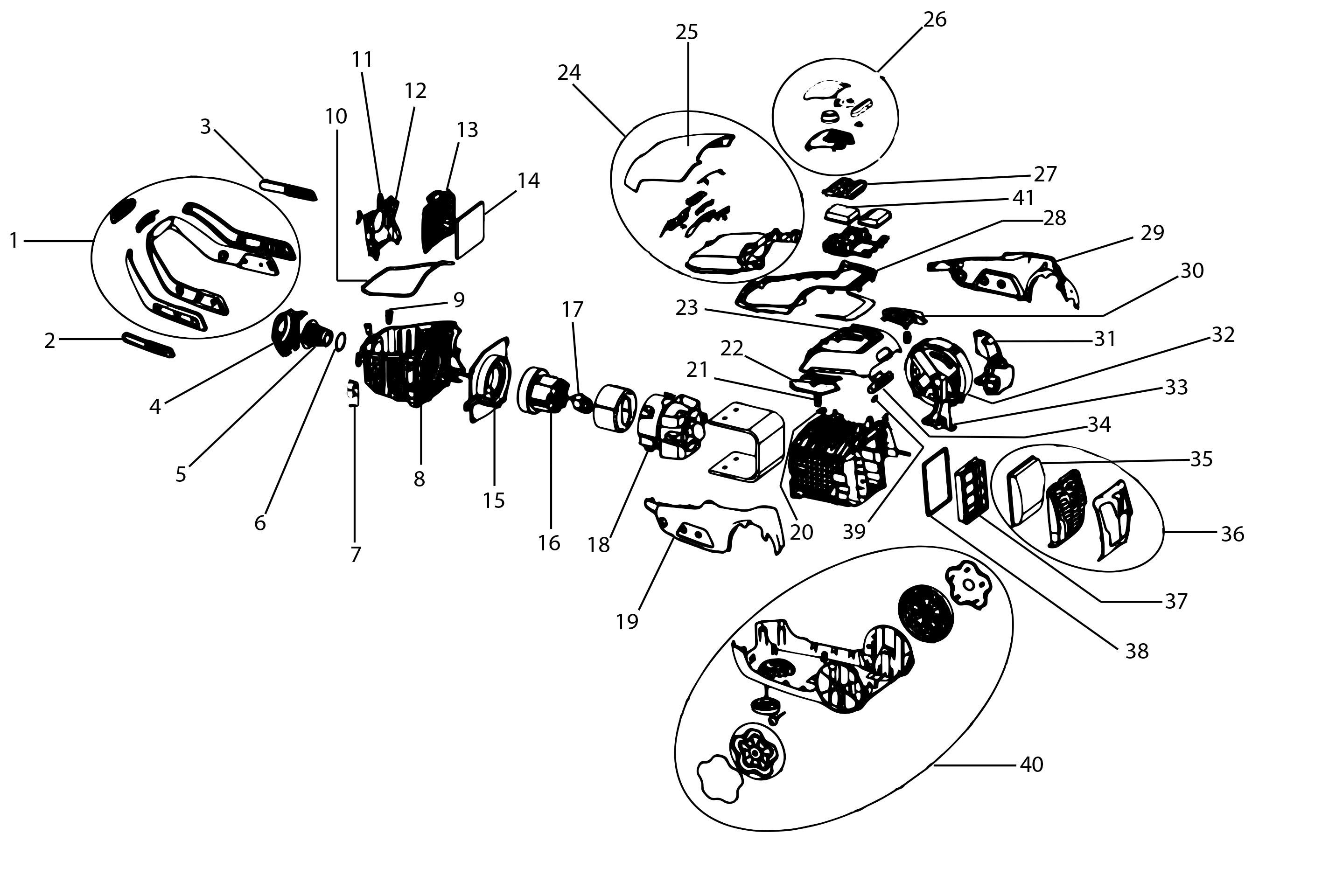 El B Part Diagrams