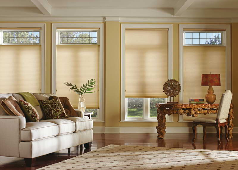 Creative Blinds for French Doors