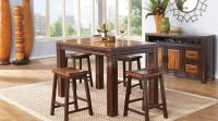 Wood Casual Dining Room Sets