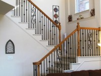 Wrought Iron Stair Balusters Decorate Stair Railings Beautifully