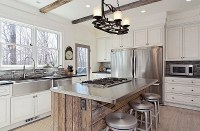 modern-rustic-kitchen-with-stainless-steel-countertop