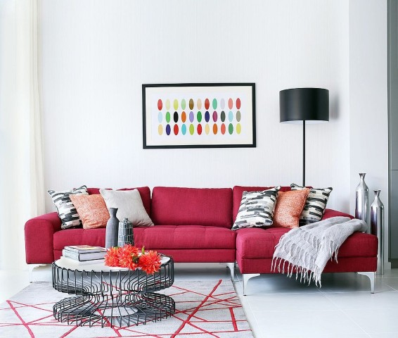 colorful sofas trend