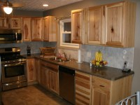 Hickory Wood Cabinets Kitchens