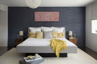 Contemporary Yellow and Grey Bedroom Decorating Ideas