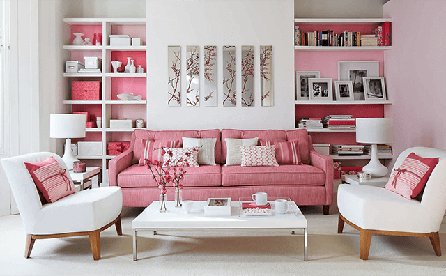 Contemporary Living Room Iinspiration with a Monochromatic Color Ideas