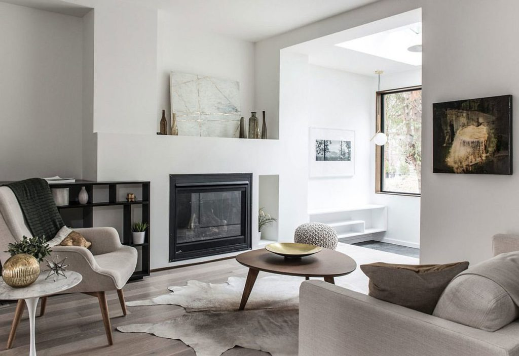 Remodel Living Room Ideas with Monochromatic Color Scheme Ideas