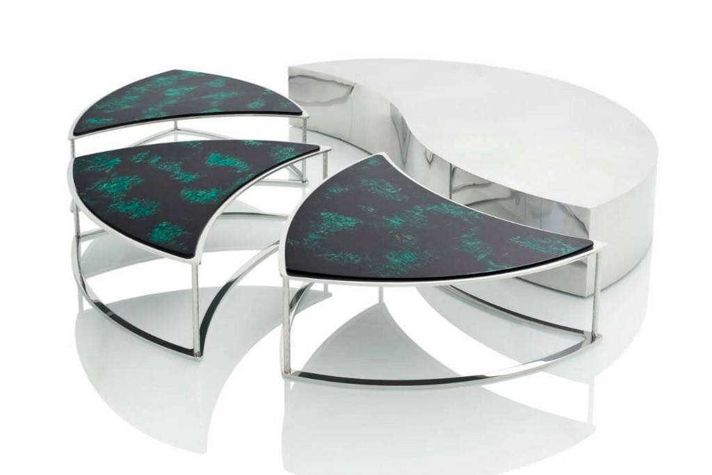 Modern Modular Coffee Table from Emanuel Ungaro Home