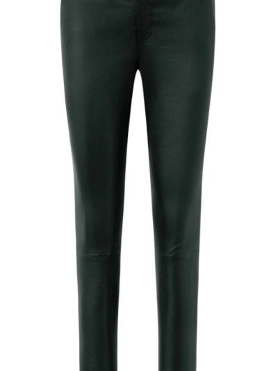 stretch pant forest green depeche