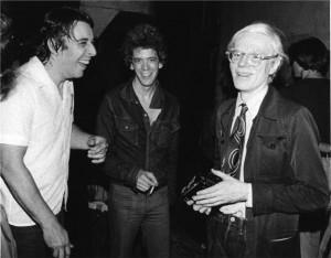 John Cale, Lou Reed & Andy Warhol, NYC, 1976