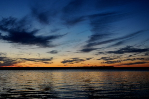 Sunset by Lake Mindemoya