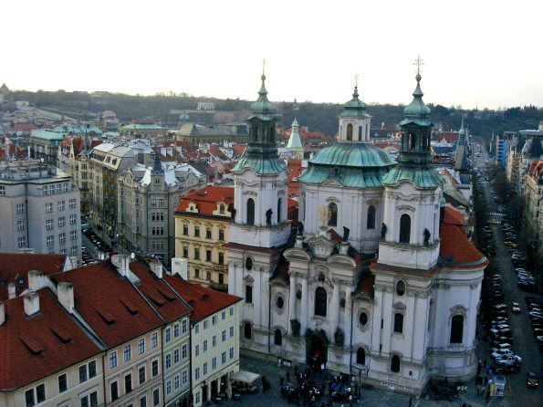 View from the Astronomical clock tower - it's worth going up