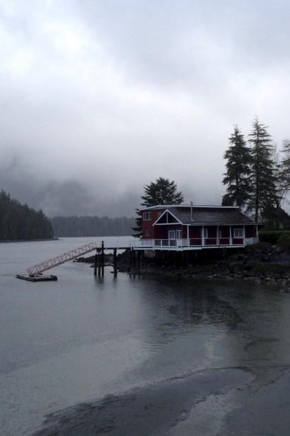 Foggy morning at the Crab Dock