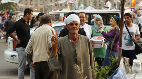 Préparation iftar place Tahrir