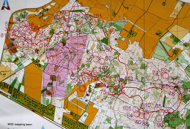 Eva Jurenikova   orienteering   adventure racing   Maps WOC middle qualification 2006 07 29  Silkeborg  Denmark  O Ringen E3 long  2006 07 19  Rengsj      O Ringen E2 sprint 2006 07 18  S    derhamn