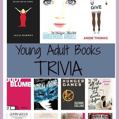 Young Adult Books TRIVIA:  Test Your YA Knowledge!