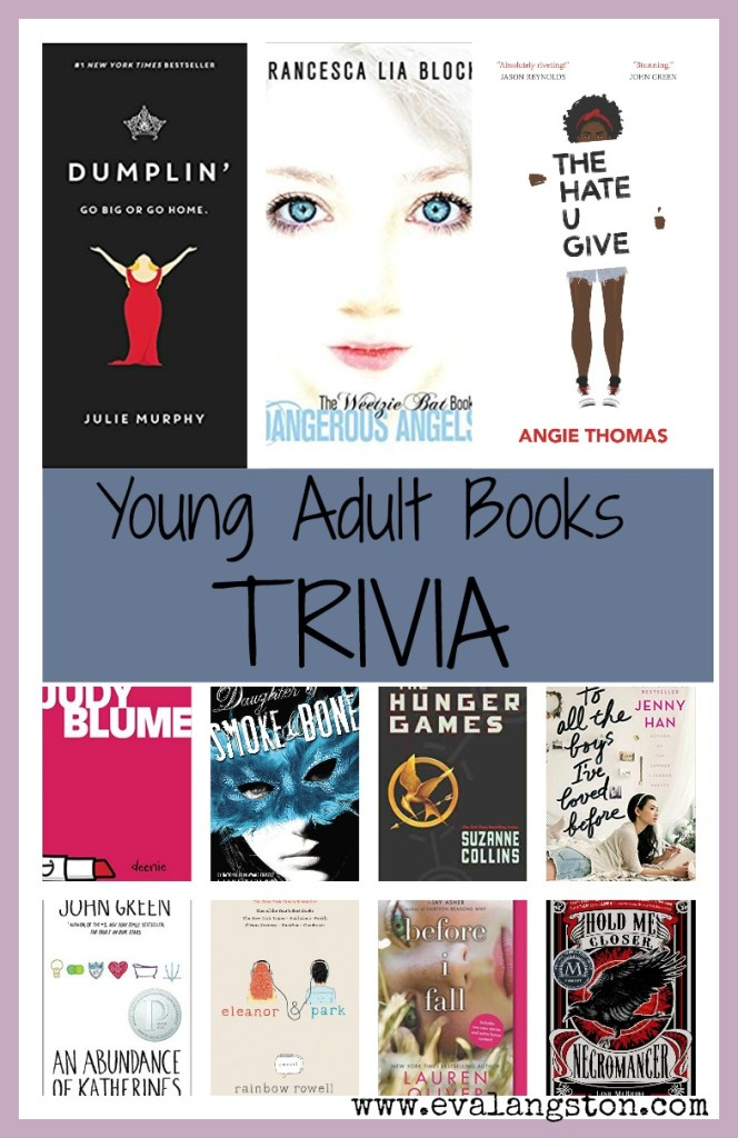 Young Adult Books Trivia -- Test your YA Knowledge with this quick quiz.