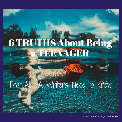 6 teenage truths: hallmarks of what it's like to be an American teen.  And important points for YA writers to keep in mind.
