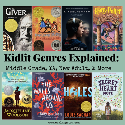Kidlit Genres Explained: Middle Grade, YA, New Adult, & More