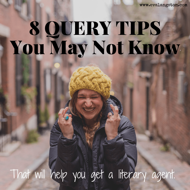 8 query tips for querying literary agents