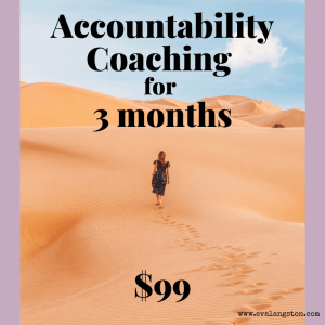 Accountability Coaching 3 months