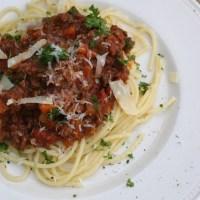 Spaghetti Bolognese - einfalt og gott!