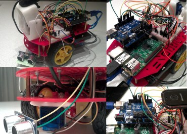 Web controlled robot