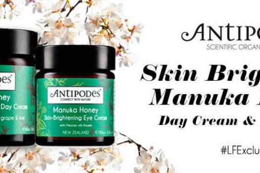 Antipodes來自紐西蘭的天然有機品牌,相當推薦這個全素保養品! 沒想到也不貴呢!