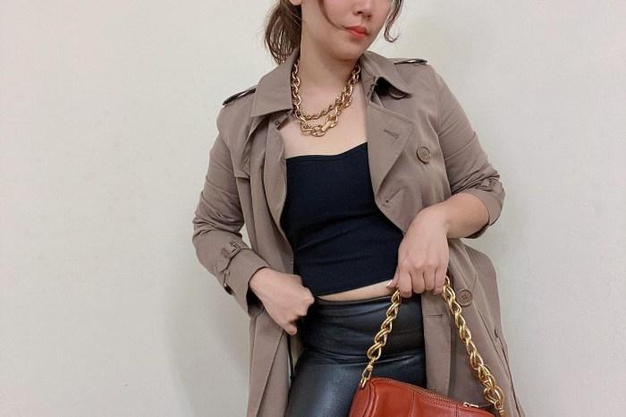 OUTNET購買評價: Burberry乾燥玫瑰色風衣實穿分享,七折 Burberry 耳環,SELF-PORTRAIT 小香風洋裝