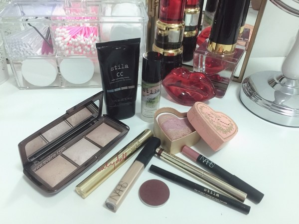 Current morning makeup routine favourites