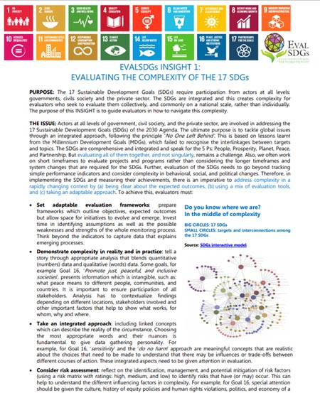 1: Evaluating the Complexity of the 17 SDGs