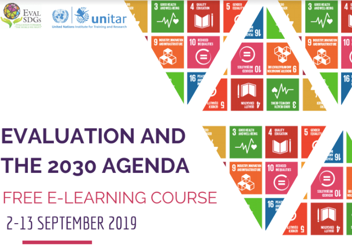EVALUATION AND THE 2030 AGENDA FREE E-LEARNING COURSE
