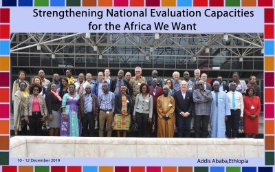 Forum on Strengthening National Evaluation Capacities for the Africa We Want – Addis Ababa, December 2019