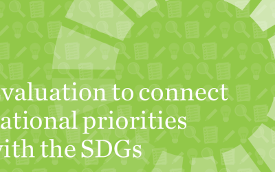 "Guidebook ""Evaluation to connect the SDGs with national priorities: a guide for evaluation commissioners and managers"" now available"