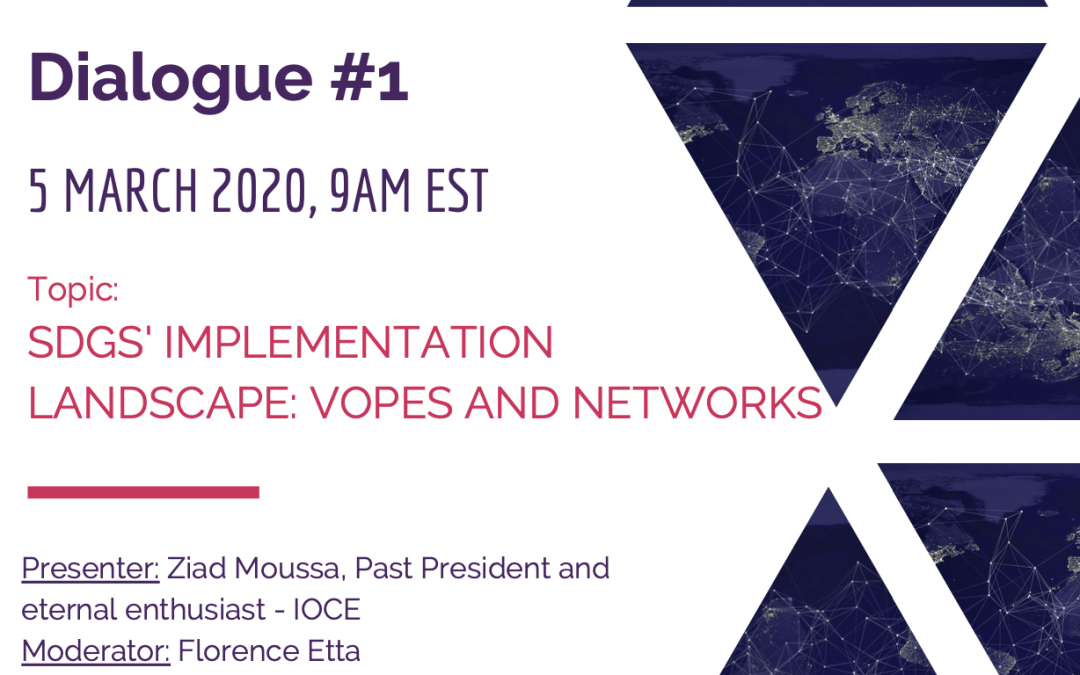 Webinar: SDGs' Implementation Landscape: VOPEs and Networks