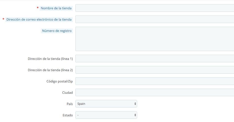 Modificar datos de la tienda en 1.7