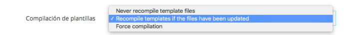 no recompilar plantilla si no hay cambios 1.7