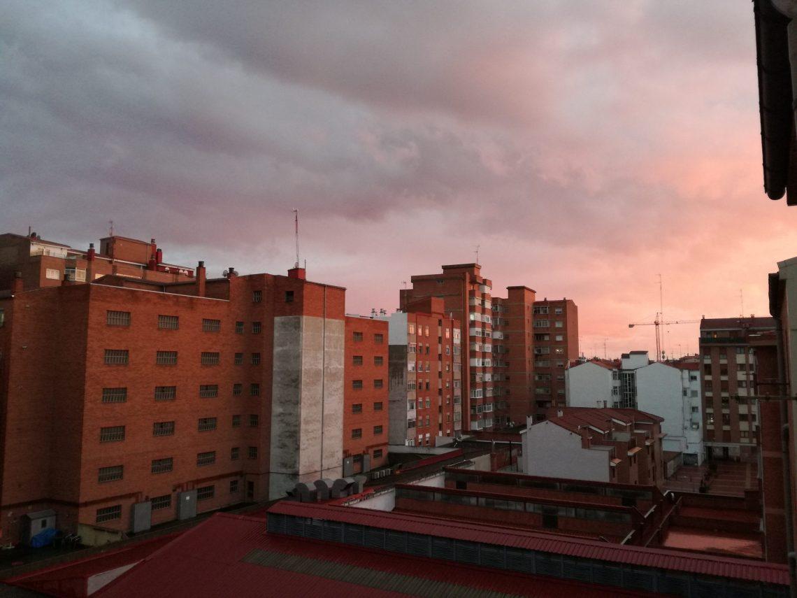 Cielos desde mi ventana en cuarentena