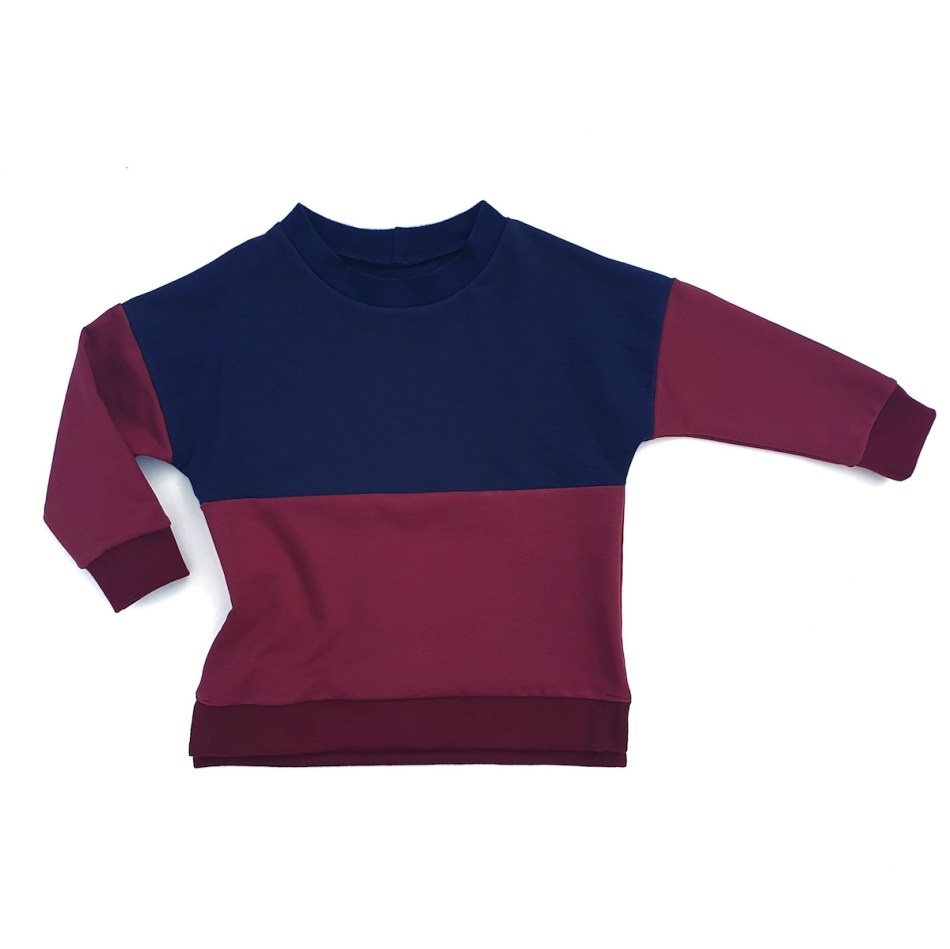 sweat-parfait-colorblock-bordeaux-evamia