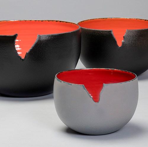 Collezione Fuoco pezzi unici vasi